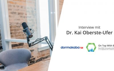 Speaker Interview mit Kai Oberste-Ufer
